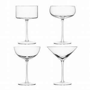 Set A Cocktail : buy lsa international lulu cocktail glasses set of 4 assorted amara ~ Teatrodelosmanantiales.com Idées de Décoration