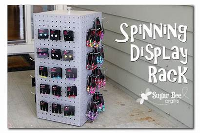 Jewelry Display Paparazzi Diy Rack Craft Spinning