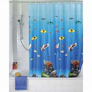 Rideau Salle De Bain : rideau salle de bain ~ Dailycaller-alerts.com Idées de Décoration
