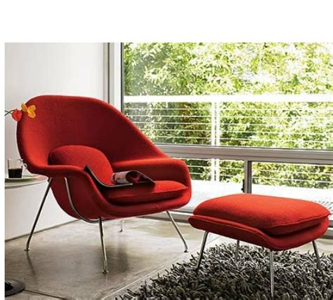 womb chair and ottoman the furniture company ltd