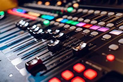 Radio Studio Mixing Talk Console Promotion Equalizer