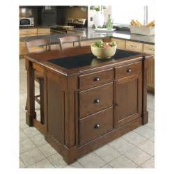 kitchen islands home styles aspen granite top kitchen island with two stools and drop leaf kitchen islands and