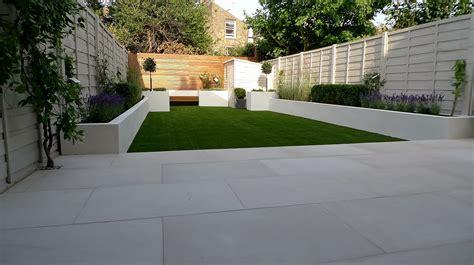 small modern garden design sandstone london garden design