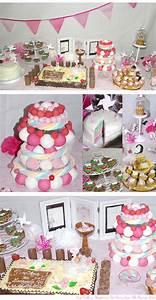 Decoration Pour Bapteme Fille : une d co de bapt me digne d 39 une princesse d co de table sweet table evenements idee ~ Mglfilm.com Idées de Décoration