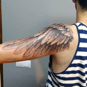 Wing Tattoo On Shoulder Designs, Ideas and Meaning ...