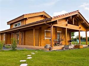 chalets et maisons en bois massif architecture bois With maison en bois architecte