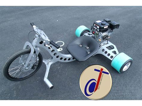Drift Trike Industrial (build Plans Only) Motorized