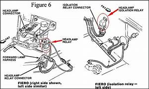 please help having issues with my gen 2 headlight motors With fuse box diagram 1987 gt pennock39s fiero forum