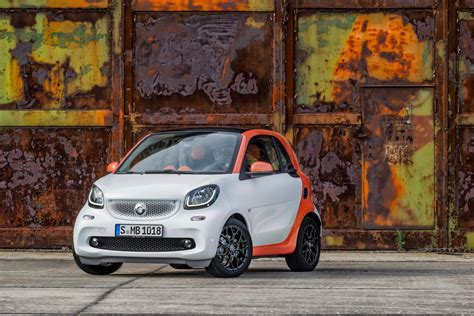 2018 Smart Fortwo Forfour Pricing Announced First