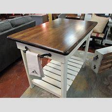 "Handmade Kitchen Island And ""barnwood"" Farm Tables  Just"
