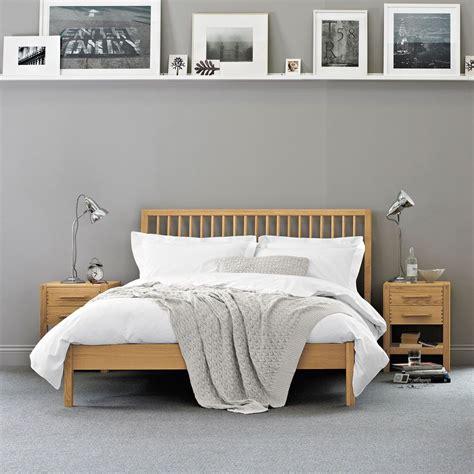 pimlico bed oak bed frame feather black bedroom