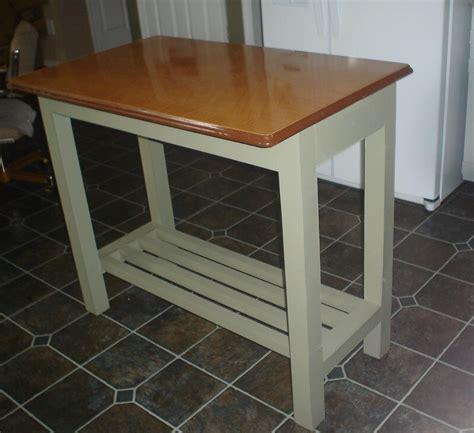 Kitchen Island Genius Idea Upcycle A Vintage Metal Table