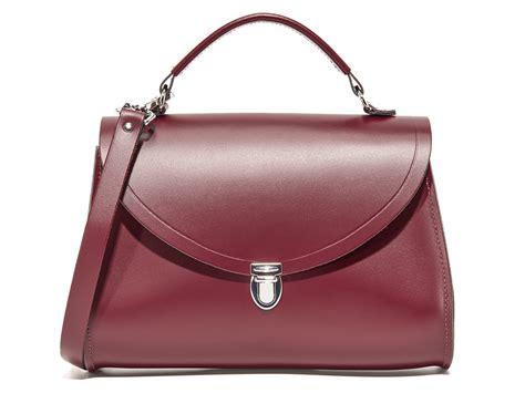 shopping bag handle best bet the cambridge satchel poppy top handle is the