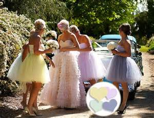 tulle bridesmaid dresses new summer bridesmaid dress pretty pastels tulle chantilly wedding