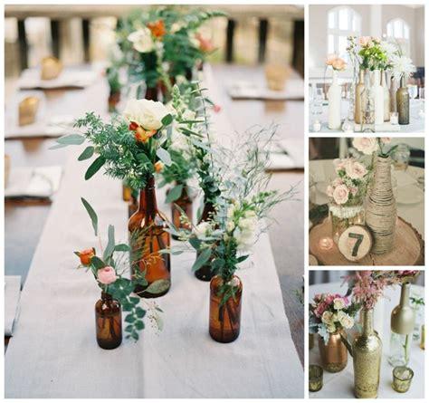 idees centre de table mariage original centre de table original d 233 co sp 233 ciale avec des bouteilles