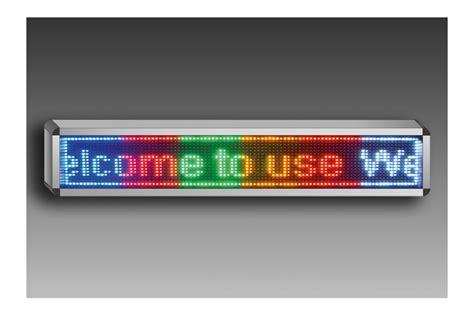 panneau led d 233 filant programmable 100x20 cm