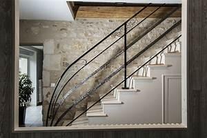 Rambarde Fer Forgé : rampes d 39 escalier en fer forg la forge de rohane ~ Dallasstarsshop.com Idées de Décoration