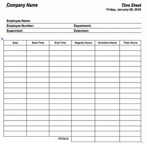 6 free timesheet templates for tracking employee hours With hourly employee timesheet template