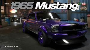 """1965 FORD MUSTANG - DERELICT BUILD:- """"SUPER BUILD"""" [RACE SPEC] - Need For Speed Payback. - YouTube"""