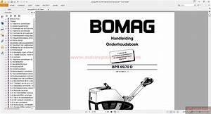 Bomag Bpr 65 70d Maintenance Manual