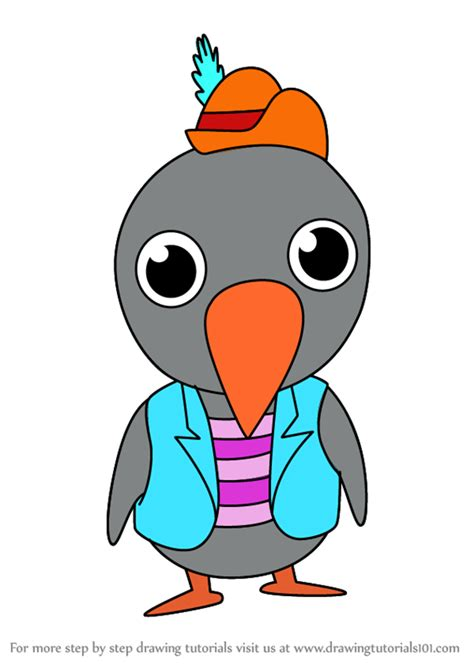 learn   draw kawaii jim crow  dumbo kawaii characters step  step drawing tutorials