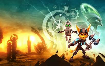 Ratchet Clank Crack Future Wallpapers