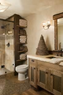 luxus badezimmer einrichtung holz im badezimmer landhausstil im bad für entspannende atmosphäre