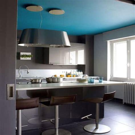 cuisine turquoise et gris 5 idées deco pour marier plusieurs couleurs de peinture
