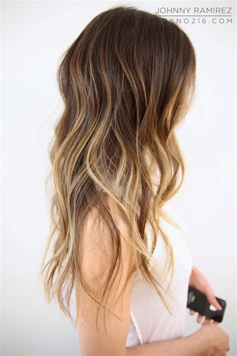 dark brown hair with light brown tips light brown hair with tips light brown hair with