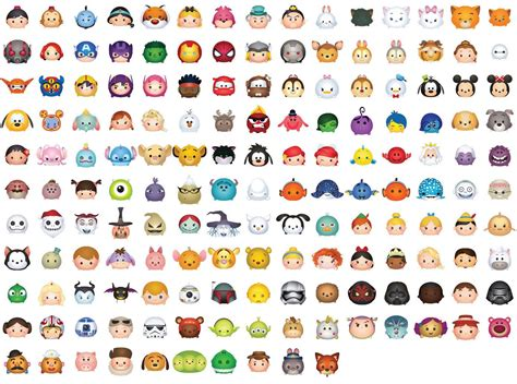 1 Custom Selected Tsum Tsum Character Digital Large Print