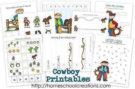 cowboy preschool theme free cowboy preschool unit study pack 322