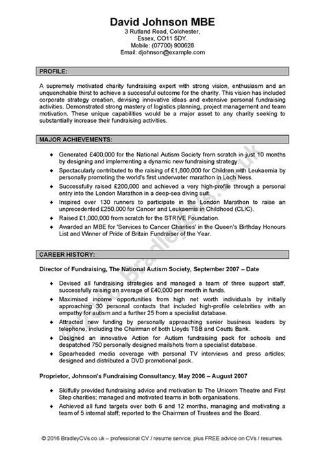 Personal Statement For Resume by Exle Of Cv With Personal Statement Sales Engineer Cv