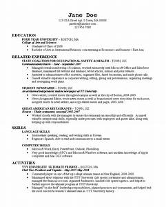 10 Tips to Write College Resume