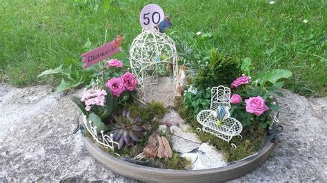 Geldgeschenk Romantischer Garten  Geldgeschenk Garten