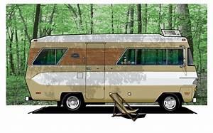 1970 Glastron Motorhome Vintage Rv Camper Photo Ad