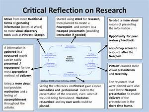 a personal reflection of the activity on reflective With gibbs reflective model template
