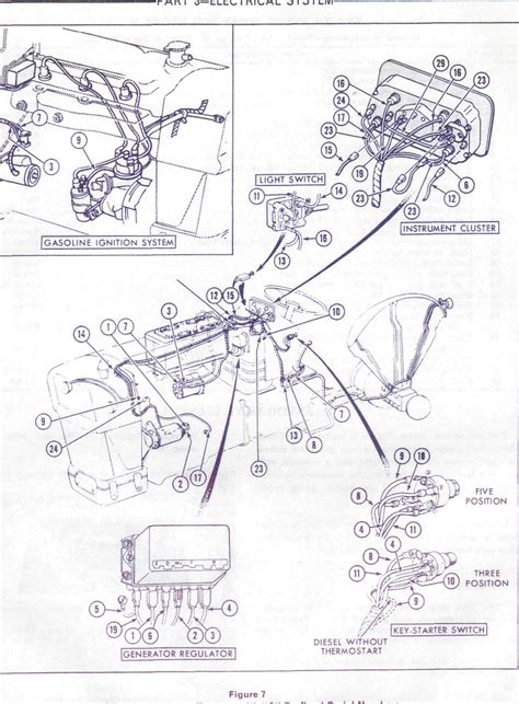 wire diagram  ford  loader