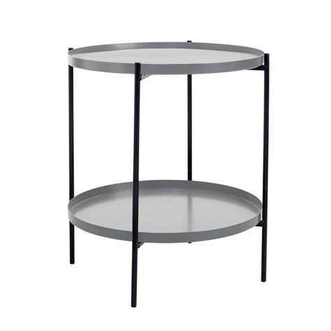 gray coffee table tray tray side table s grey bolia