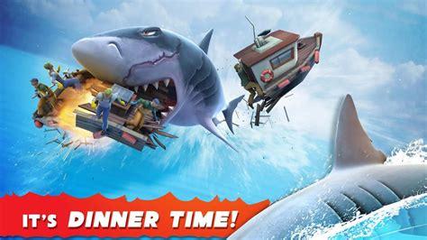 shark hungry mod evolution apk v6 gems coins latest unlimited unlocked money