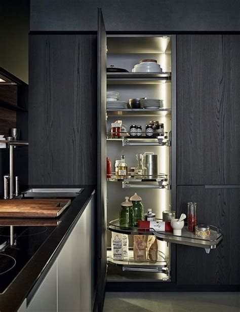 modern kitchen pantry designs 10 modern kitchen pantry cabinets rilane 7730
