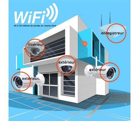 enregistreur wifi de surveillance 4 canaux dvr 360