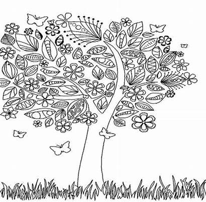 Coloring Pages Adults Fall Autumn Printable Colouring
