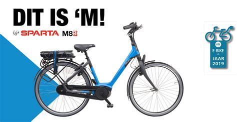 beste e bike sparta m8b verkozen tot beste e bike het jaar 2019 sparta nl