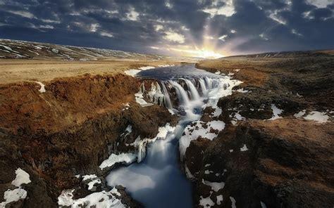 landscape, Nature, Water, Iceland Wallpapers HD / Desktop ...