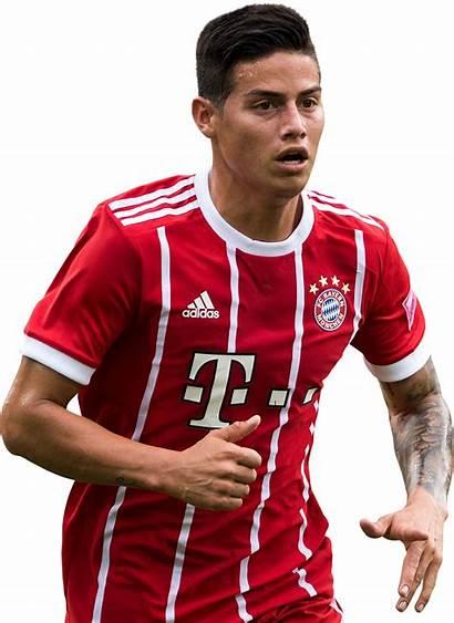 James Render Rodriguez Rodriguez Bayern Footyrenders Football