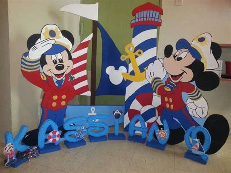 Mickey Mouse Boat by Mickey Nautical Sailor Lighthouse Boat Mickey Y Minnie