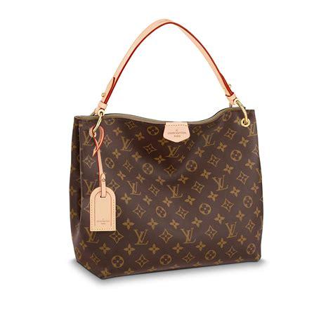 tote bag graceful pm monogram handbags louis vuitton