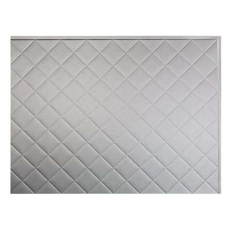 fasade decorative thermoplastic panels fasade 24 in x 18 in quilted pvc decorative backsplash