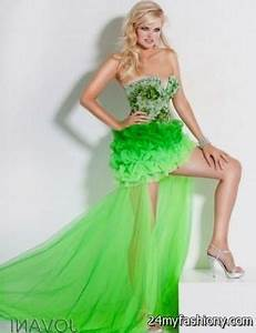 lime green prom dresses 2016 2017