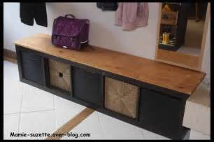 Meuble Expedit Ikea Pas Cher by Ikea Expedit Relook 233 En Banc Pour L Entr 233 E Avec Rangements